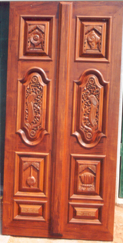 Entrance Door Carved Entrance Door Exporter From Bengaluru