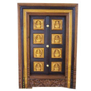 Attractive Wooden Door